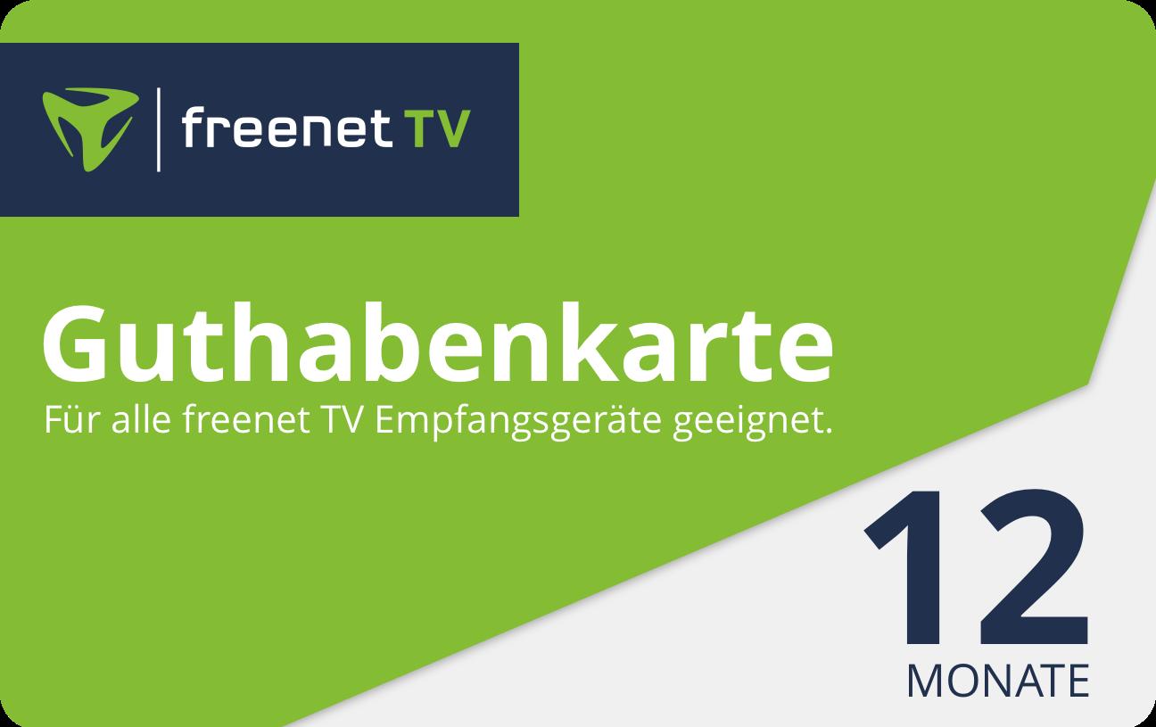 freenet karte kaufen Guthabenkarte für freeTV   Guthabenkarten