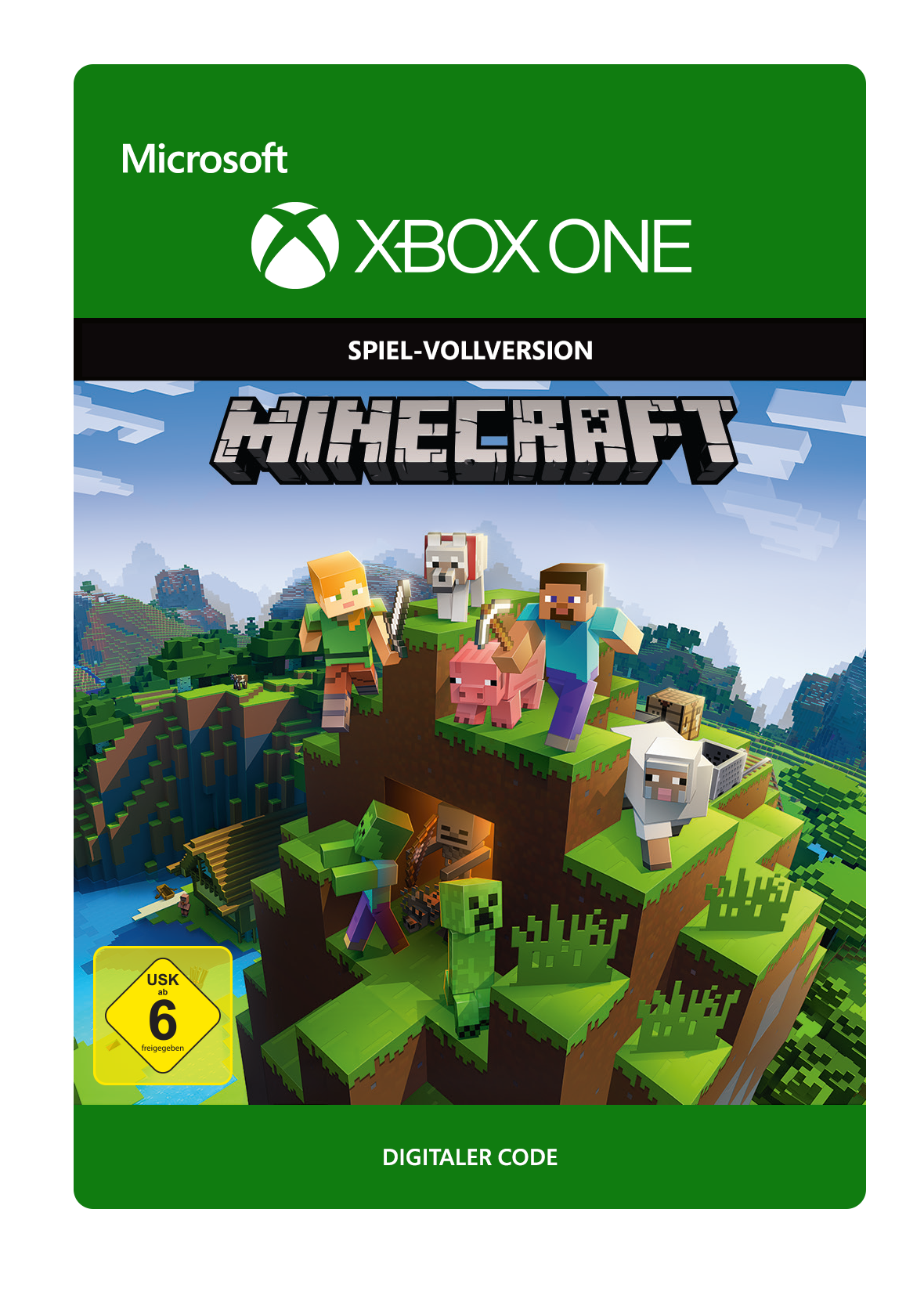 Minecraft XBox Konsole Gaming Welt - Minecraft spielen vollversion