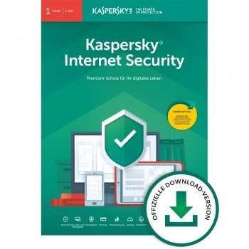 Kaspersky Internet Security 1 Gerät, 1 Jahr