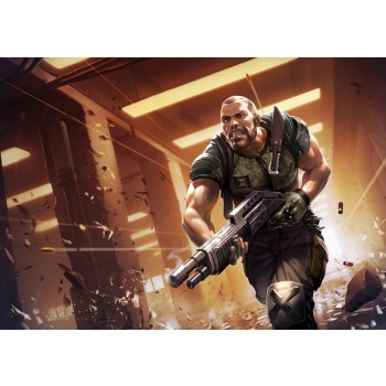 Ballistic Overkill Berserker: Veteran