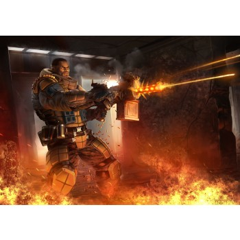 Ballistic Overkill Tank: Elite