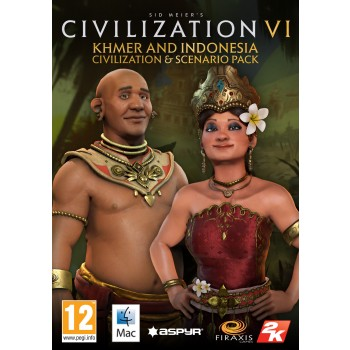 Sid Meier's Civilization VI Khmer and Indonesia Civilization & Scenario Pack