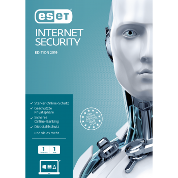 ESET Internet Security 2019 1 User 1 Jahr