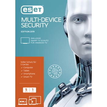ESET Multi-Device Security 2019 5 User 1 Jahr