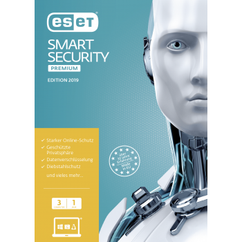 ESET Smart Security Premium 2019 3 User 1 Jahr