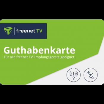 Guthabenkarte für freenet TV
