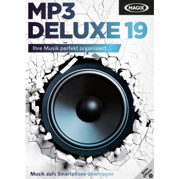 MAGIX MP3 deluxe 19 – Box