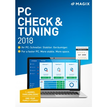 MAGIX PC Check & Tuning 2018
