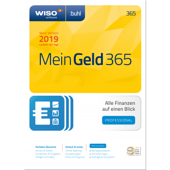 WISO Mein Geld 365 Professional