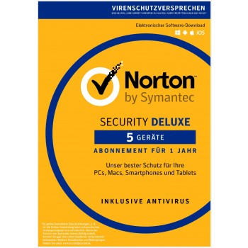 Norton Security Deluxe 1u/5d/1y