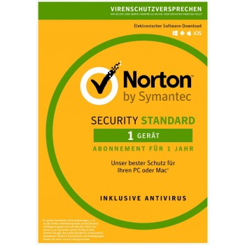 Norton Security Standard 1u/1d/1y
