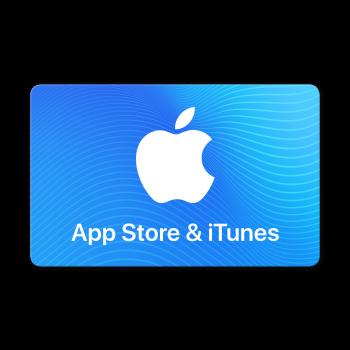 Geschenkkarte für App Store & iTunes